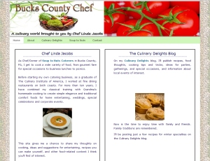 Chef Linda Jacobs' Soup to Nuts Caterers Blog